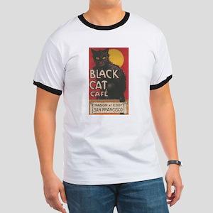 san-francisco-black-cat-cafe T-Shirt