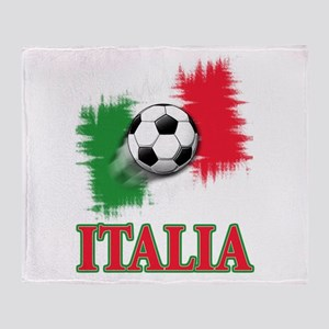 Italian World Cup Soccer Throw Blanket