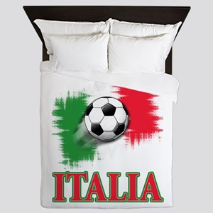 Italian World Cup Soccer Queen Duvet