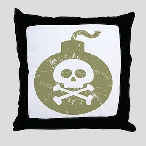 Bomb Throw Pillow