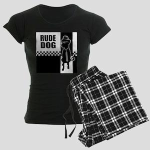 Rude Dog Women's Dark Pajamas