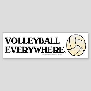 TOP Volleyball Everywhere Bumper Sticker