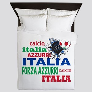 Italian World Cup Soccer Queen Duvet