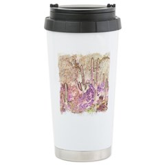 Wild Saguaros Stainless Steel Travel Mug