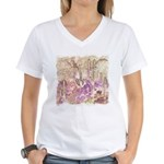 Wild Saguaros Women's V-Neck T-Shirt