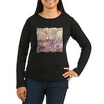 Wild Saguaros Women's Long Sleeve Dark T-Shirt