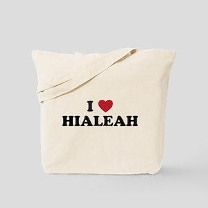 I Love Hialeah Florida Tote Bag