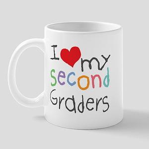 I Love My 2nd Graders Mug
