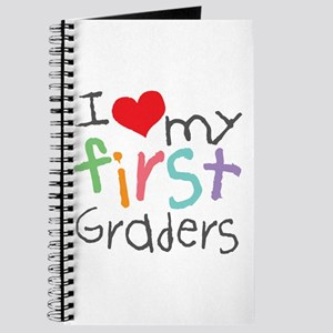 I Love My 1st Graders Journal