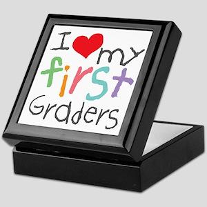 I Love My 1st Graders Keepsake Box