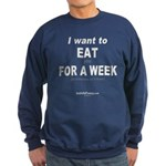 EatYouForWeek Sweatshirt (dark)