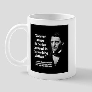 Emerson Genius Quote 2 Mug