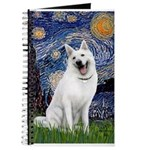 Starry-White German Shepherd Journal