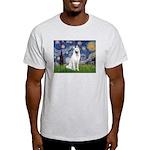 Starry-White German Shepherd Light T-Shirt