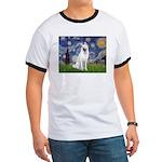 Starry-White German Shepherd Ringer T