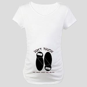 Ninja Twins Maternity T-Shirt