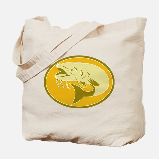 Catfish front side Tote Bag