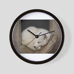 Sleeping corner Wall Clock