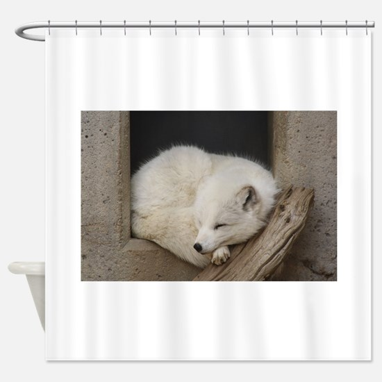 Sleeping corner Shower Curtain
