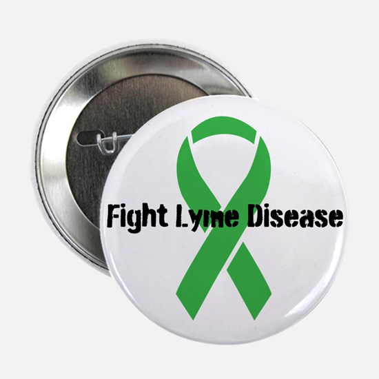 """Cute Chronic lyme fight 2.25"""" Button (10 pack)"""