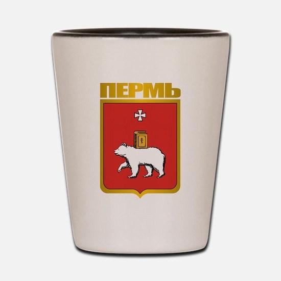 Perm COA Shot Glass