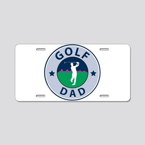 Golf Dad Fathers Aluminum License Plate