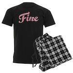 Fab Tabulous Men's Dark Pajamas