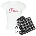 Fab Tabulous Women's Light Pajamas