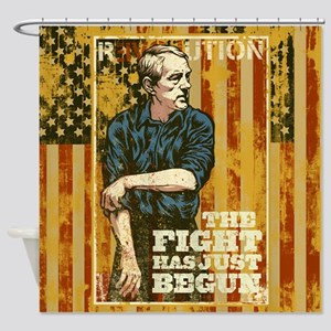The Fight Has Just Begun Shower Curtain