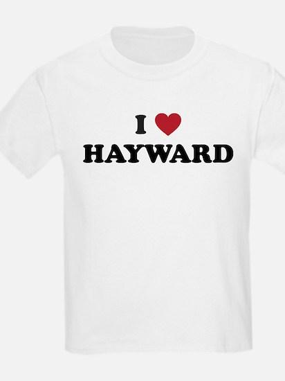 I Love Hayward California T-Shirt