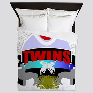 grandmother of twins Queen Duvet