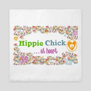 Hippie Chick at Heart Queen Duvet