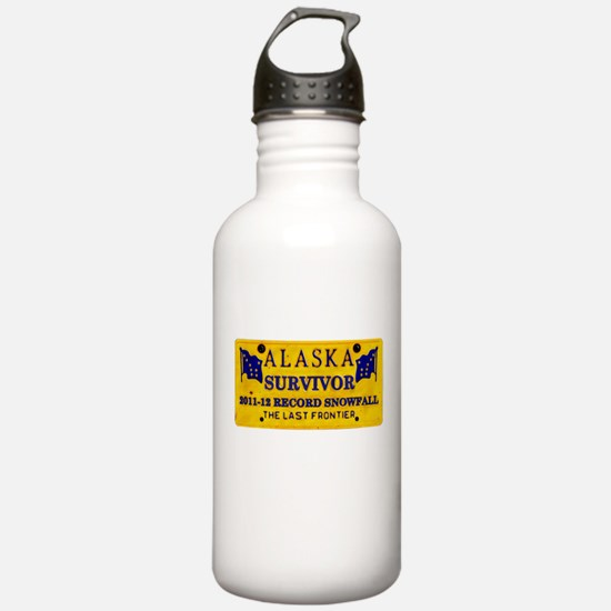 Snow Survivor Water Bottle