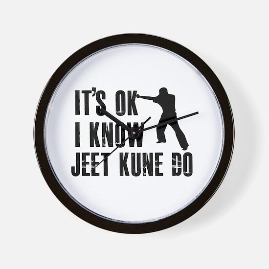 Jeet Kune Do Designs Wall Clock