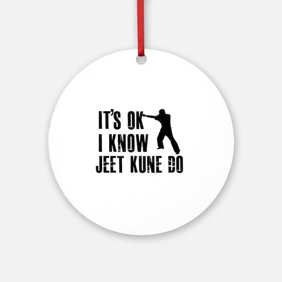 Jeet Kune Do Designs Ornament (Round)