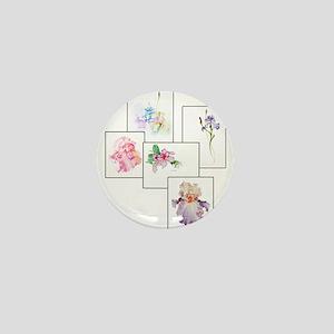 Bouquet Mini Button