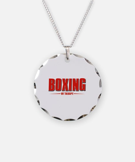 Boxing Designs Necklace