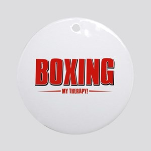 Boxing Designs Ornament (Round)