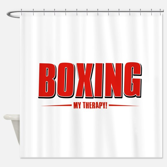Boxing Designs Shower Curtain
