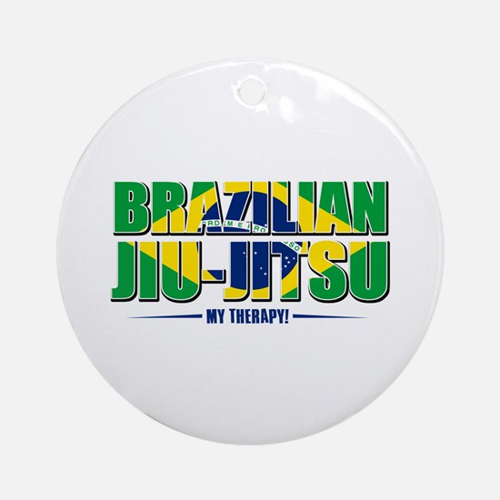 Brazilian Jiu Jitsu Designs Ornament (Round)
