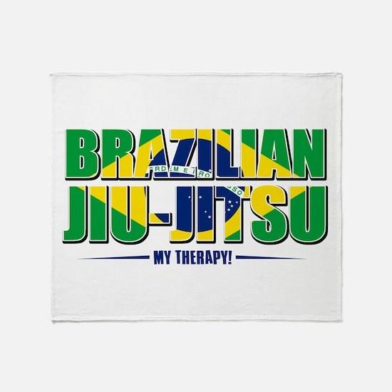 Brazilian Jiu Jitsu Designs Throw Blanket