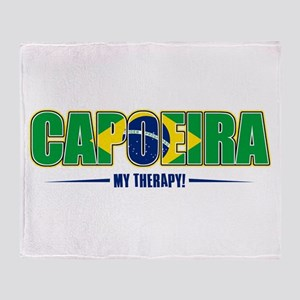 Capoeira Designs Throw Blanket