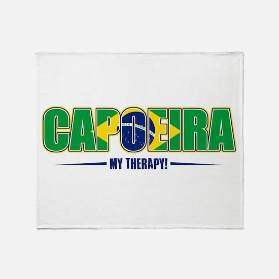 Capoeira Designs Throw Blanket