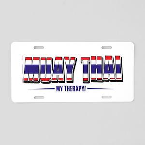 Muay Thai Designs Aluminum License Plate