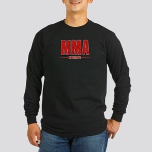 MMA Designs Long Sleeve Dark T-Shirt