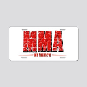 MMA Designs Aluminum License Plate