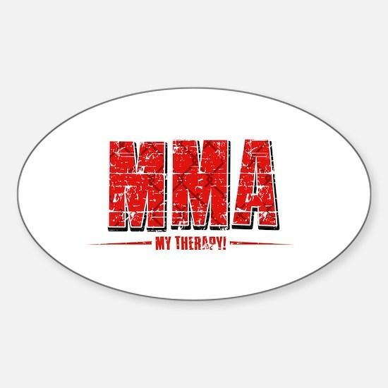 MMA Designs Sticker (Oval)