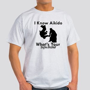 Aikido Is My Superpower Light T-Shirt