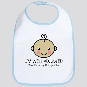 Well-Adjusted Baby (Med) Bib