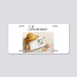 Summer Design Aluminum License Plate
